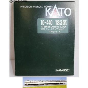 『中古即納』{RWM}10-440 特別企画品 183系 グレードアップ「あずさ」 9両セット Nゲージ 鉄道模型 KATO(カトー)(20020808)