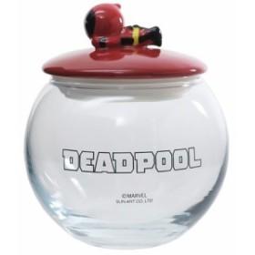 デッドプール 保存容器 ガラス キャニスター KAWAIIシリーズ マーベル 新生活準備 キャラクター グッズ