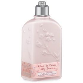 ロクシタン L'OCCITANE チェリーブロッサム シマーリング ボディミルク 250ml (香水/コスメ)