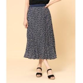 SHOO・LA・RUE / シューラルー 【WEB限定サイズあり】柄アソートプリーツスカート