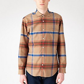 【Crestbridge 】【Safari5月号掲載】ヴィンテージクレストブリッジチェックシャツ