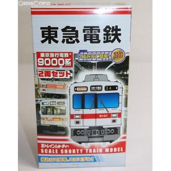 『中古即納』{RWM}Bトレインショーティー 東京急行電鉄9000系 2両セット 組み立てキット Nゲージ 鉄道模型 バンダイ(20120210)