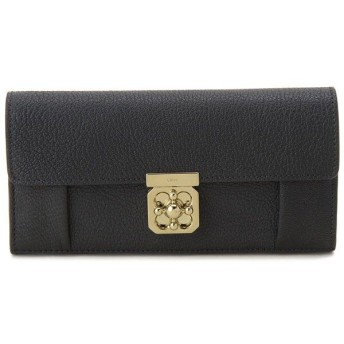 クロエ Chloe 長財布 3S0592835001 ELSIE エルシー 二つ折り長財布 ブラック レディース ブランド