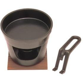 (((S))) 鉄 すきやき鍋セット ハンドル付 セット