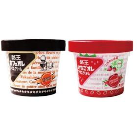 酪王カフェオレ いちごオレ アイスクリーム 6個セット (各3個)