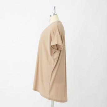 Tシャツ - HANGAA Tシャツ レディース 大きいサイズ カットソー 無地 ボーダー LL 3L 4L 5L 6L