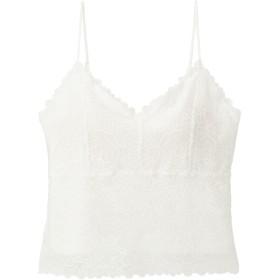(GU)ブラフィールレーシーキャミソール OFF WHITE XL
