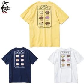 チャムス CHUMS Tシャツ 半袖 レディース ドーナツメニューTシャツ トップス CH11-1502
