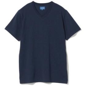 (BEAMS MEN/ビームス メン)BEAMS/スタンダード Vネック Tシャツ/メンズ NAVY