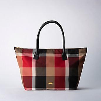 【ブルーレーベル・クレストブリッジ 】クレストブリッジチェックトートバッグ