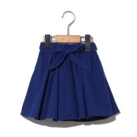 40%OFF F.O.FACTORY (エフ・オー・ファクトリー) BREEZEリボン付スカート ブルー