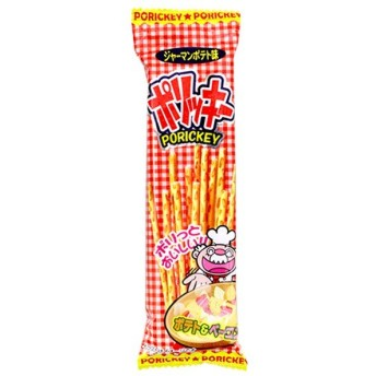 15円 やおきん 16gポリッキー ジャーマンポテト味 [1袋 24個入]