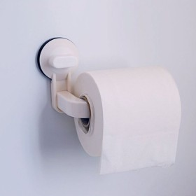トイレットペーパーホルダー ペーパーホルダー タオルラック シンプル 強力吸盤 シンプル 取り付け簡単 トイレ用品 日用品