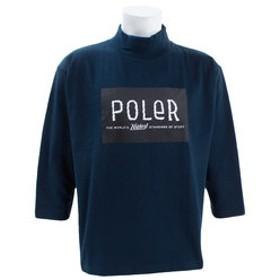 【Super Sports XEBIO & mall店:トップス】【オンライン限定特価】FURRFONT BOX MOCK 8分袖 Tシャツ S18AW-POLER-008CNVY