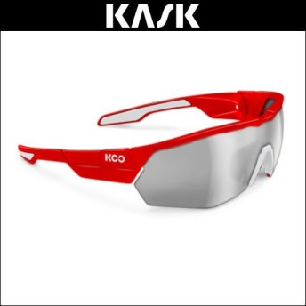 KOO(クー) サングラス OPEN CUBE RED/WHT ASIAN