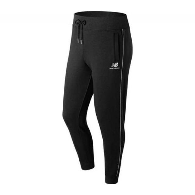 455ede29b02c0 ニューバランス New Balance メンズ スウェット・ジャージ ボトムス・パンツ MP91538 Essentials Pinstripe  Sweatpant Black