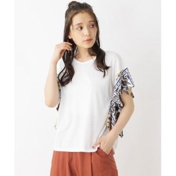 Tシャツ - Cutie Blonde 天竺袖ラッフルプルオーバー