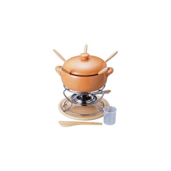 【業務用】 チーズフォンデュセットT-100用 陶器製 ミニ 鍋丈 【まとめ買い10個セット品】