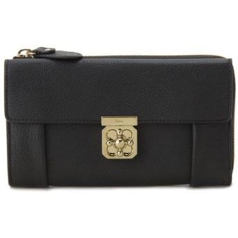 クロエ Chloe 長財布 3S0591835001 ELSIE エルシー L字ファスナー 財布 ブラック レディース ブランド