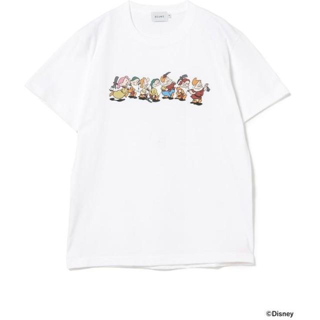 ビームス メン Yu Nagaba / 7人のこびと Tシャツ メンズ WHITE S 【BEAMS MEN】