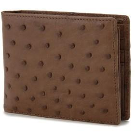 ロダニア RODANIA オーストリッチ 二つ折り財布【小銭入れなし】 カンゴタバック OJN0285KT