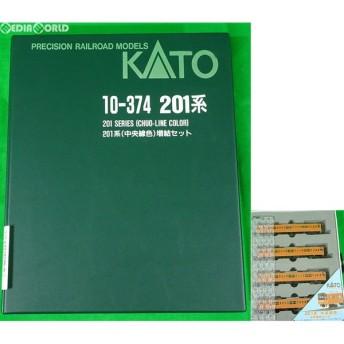 『中古即納』{RWM}10-374 201系中央線色増結(4両) Nゲージ 鉄道模型 KATO(カトー)(20031222)