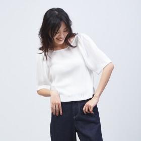 [マルイ]【セール】タックスリーブカットソー/カリテ(qualite)