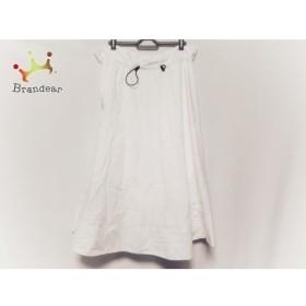 ミラオーウェン Mila Owen ロングスカート サイズ0 XS レディース 美品 白   スペシャル特価 20190913