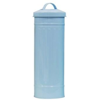セイエイ (Seiei) トイレットペーパー収納缶 ブルー