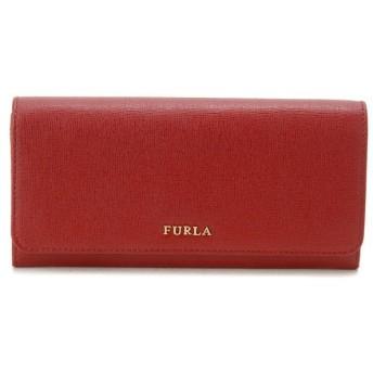 フルラ Furla 長財布 750133 サフィアーノ型押し牛革 二つ折り長財布 レッド レディース ブランド