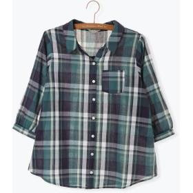 シャツ - Samansa Mos2 七分袖シャツ