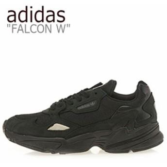 アディダス スニーカー adidas メンズ レディース FALCON W ファルコン W BLACK ブラック G26880 シューズ