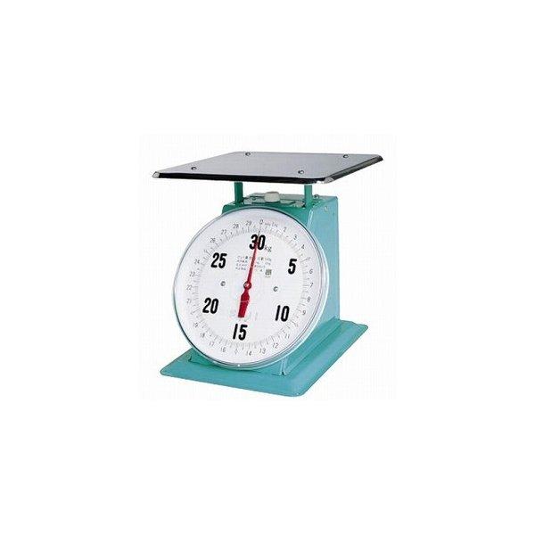 【計量器】 フジ 30kg (平皿付) 【重量計】 【測量器】 デカO型 上皿自動ハカリ 【業務用】