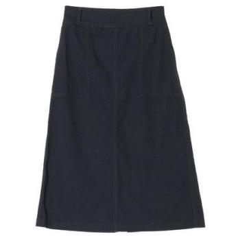 イーハイフンワールドギャラリー E hyphen world gallery カラーベイカーポケットスカート (Navy)