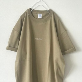 【期間限定SALE 400円OFF】ビッグTシャツ / FLOTO / カーキベージュ