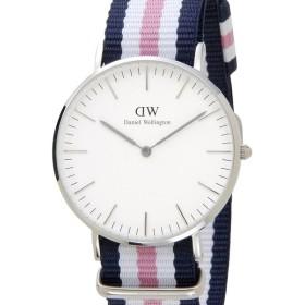 ダニエルウェリントン Daniel Wellington DW00100050 Southampton クラシック サウサンプトン NATOベルト ピンク メンズ レディース 腕時計
