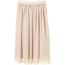 【6,000円(税込)以上のお買物で全国送料無料。】エアリーギャザースカート