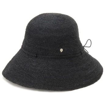 ヘレンカミンスキー 帽子 PROVENCE10-CHAR-GD 19891 チャコール/ブラック レディース HELEN KAMINSKI 麦わら帽子 ブランド