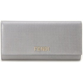 フェンディ FENDI 長財布 8M0251-EYN-F0WN4 シルバー ブランド