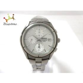 5525f8b3bd ワイアード WIRED 腕時計 7T92-0AC0 メンズ クロノグラフ シルバー 新着 20190625 通販 LINEポイント最大0.5%GET  | LINEショッピング【公式】