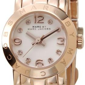 マークバイマークジェイコブス 腕時計 MARC BY MARC JACOBS MBM3227 エイミーディンキー ホワイト×ピンクゴールド レディース ブランド