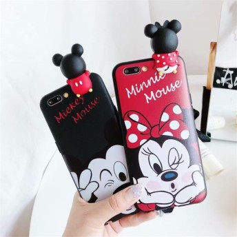 ディズニー スマホケース iPhone case 可愛い ミッキーミニー 携帯ケース 3Dキャラクター 保護用ケース 耐衝撃ケース