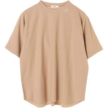 【6,000円(税込)以上のお買物で全国送料無料。】mens 裾ラウンドビッグTEE