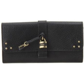 クロエ Chloe 長財布 0144-751-0011 AURORE/オーロラ ブラック レディース財布 ブランド