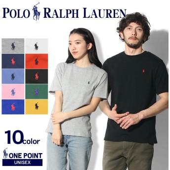 POLO RALPH LAUREN ポロ ラルフローレン 半袖Tシャツ ワンポイント クルーネック 半袖Tシャツ メンズ