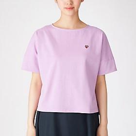【ブルーレーベル・クレストブリッジ 】コットンバスクジャージーボリュームTシャツ