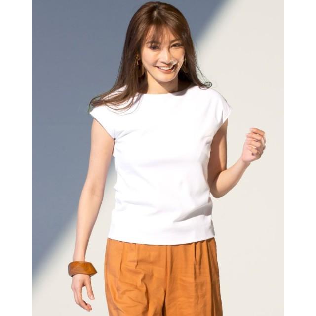 ドゥクラッセTシャツ・ボートネックフレンチ袖/60cm丈