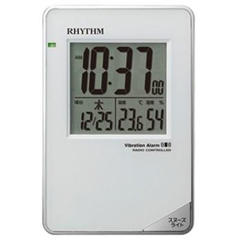【リズム時計工業】 電波デジタル置時計 8RZ211SR03 電波デジタル置時計