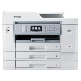 ブラザー(brother) プリンター 大容量インク型 A3 インクジェット複合機 MFC-J6999CDW (FAX/ADF/有線・無線LAN/給紙トレイ3段/両面印刷)【代引不可】