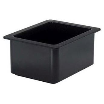 キャンブロ コールドフェストフードパン 1/2-15cm 26CF(110)黒【 ビュッフェ関連 】
